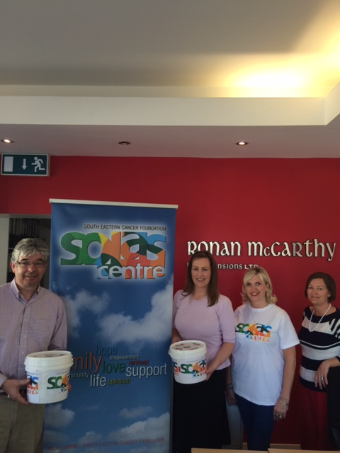 Solas Centre dropping in buckets for our Coffee Morning